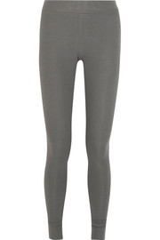 Ribbed stretch-Micro Modal leggings