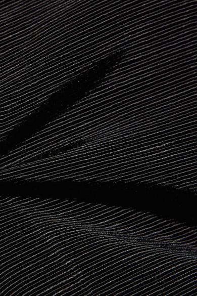 Moire Wide-leg Pants - Black Protagonist xQ4uG