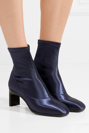 3.1 Phillip Lim Blade stretch-satin sock boots