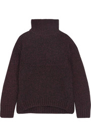 Vince Wool, cashmere and silk-blend turtleneck sweater