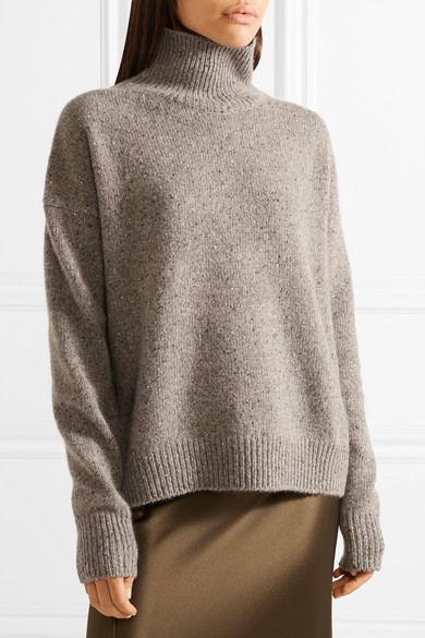 e357f4be27d78 Vince. Donegal cashmere turtleneck sweater