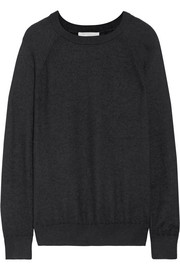 Boiled cashmere sweater