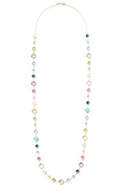 Ippolita Rock Candy Lollitini 18-karat gold multi-stone necklace