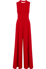 Ethel wool-crepe jumpsuit