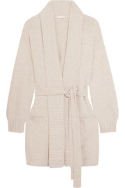 Britta Pima cotton-blend robe