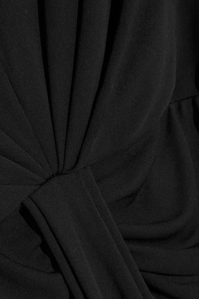 Michael Kors Collection Drapierte Robe aus Jersey mit freier Rückenpartie und Kettenverzierung Freies Verschiffen Große Überraschung Erhalten Authentisch Günstigen Preis Verkauf Hochwertige HAgfMMyRF6