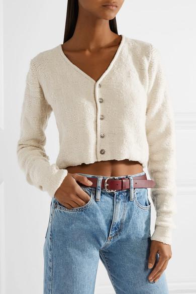 187cd9857e Cropped cashmere cardigan