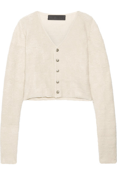 The Elder Statesman | Cropped cashmere cardigan | NET-A-PORTER.COM