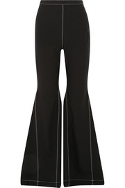 Paper London Tempest crepe flared pants