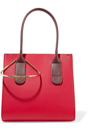 Roksanda Weekend mini two-tone textured-leather tote