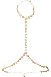 Rosantica Soffio gold-tone body chain