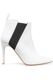Critic patent-leather ankle boots