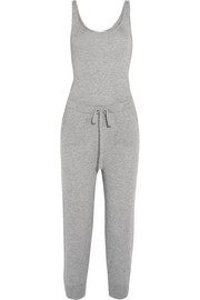 Monet wool, modal and cashmere-blend jumpsuit