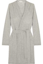 Skin Wool, modal and cashmere-blend robe