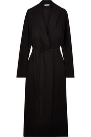 Paola Pima cotton-jersey robe