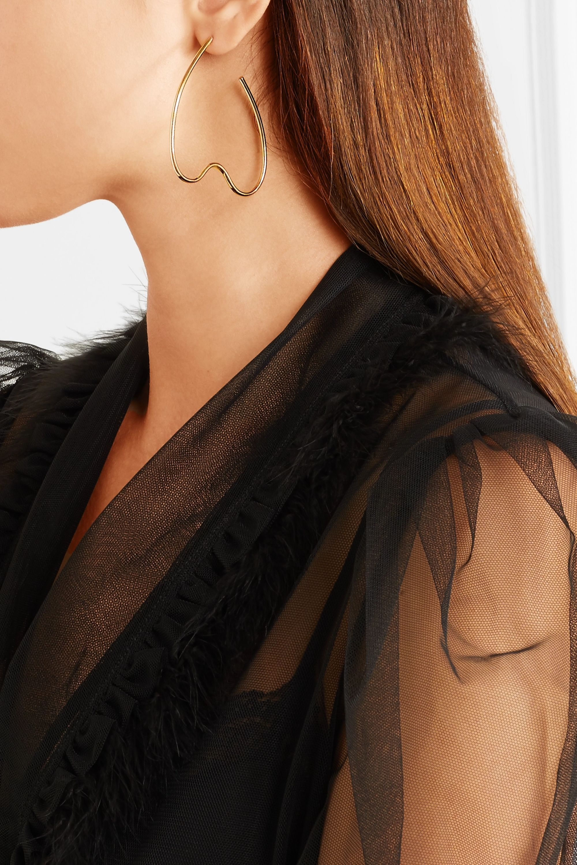 Simone Rocha Gold-plated earrings