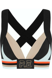 The Breaker stretch-jersey sports bra