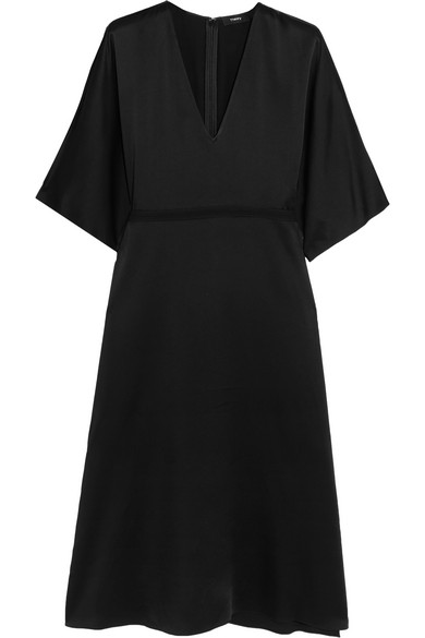 Theory - Satin Dress - Black