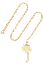 Jennifer Meyer Large Palm Tree 18-karat gold necklace