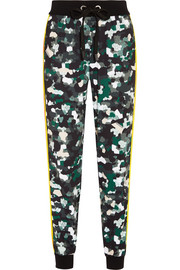 Pana printed stretch track pants