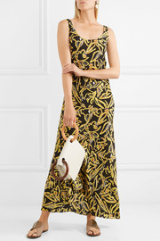 Diane von Furstenberg Printed silk maxi dress