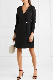 Diane von Furstenberg Essentials wrap-effect stretch-knit dress