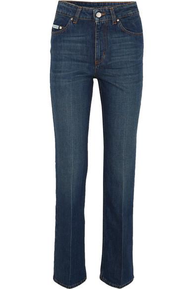 Alexa Chung Woman High-rise Kick-flare Jeans Dark Denim Size 27 AlexaChung 56rwQks