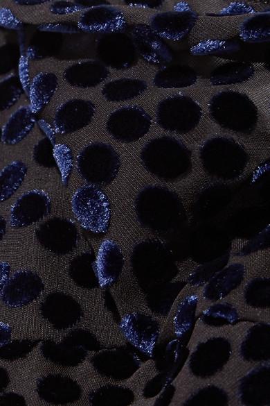 Diane von Furstenberg Robe aus Devoré-Chiffon
