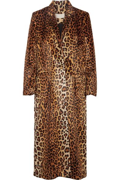 Michelle Mason - Leopard-print Faux Fur Coat - Leopard print