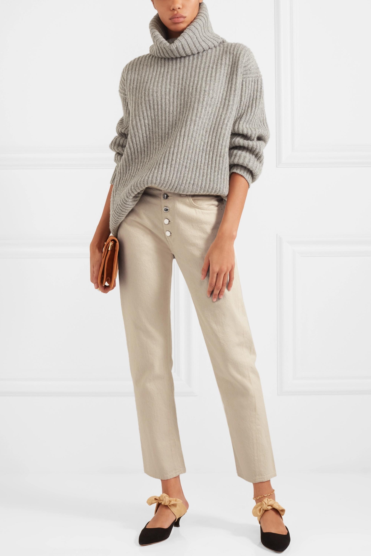 Totême Alvaro high-rise slim-leg jeans