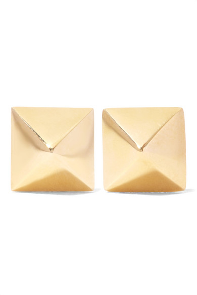 Anita Ko - Spike 14-karat Gold Earrings - one size