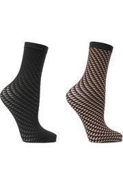 Wolford Set of two Triangle 20 denier socks