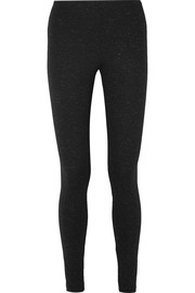 Wolford Baily metallic stretch-jersey leggings