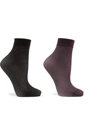 Wolford Set of two Lurex socks