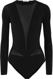 Wolford Sleek String stretch-jersey thong bodysuit