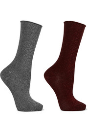 Falke Set of two Lurex socks