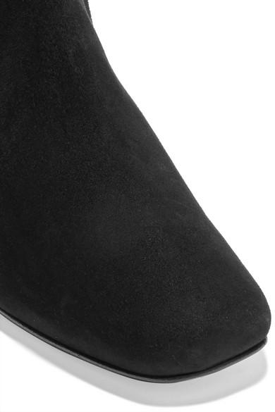 DORATEYMUR Nizip verzierte Ankle Boots aus Veloursleder