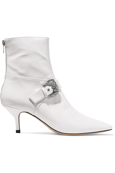 Dorateymur Saloon patent leather ankle boots how much cheap online YuisTQ8DXw