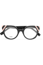 Fendi Cat-eye acetate optical glasses