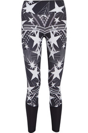 I Am Starry printed stretch-jersey leggings