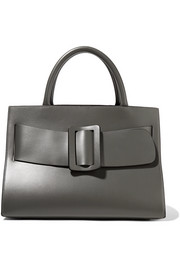 Bobby large buckled leather tote