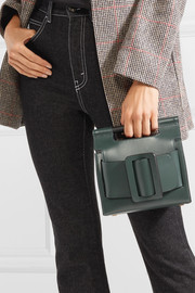 Romeo small buckled leather clutch