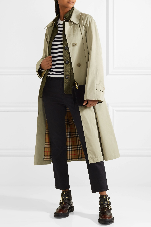 Burberry The Brighton cotton-gabardine trench coat