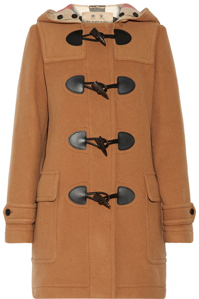 Burberry - Wool-blend Duffle Coat - Camel