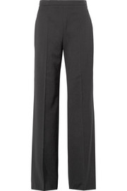 Wyhill grain de poudre wool flared pants