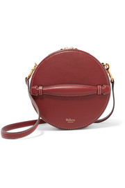 Trunk small leather shoulder bag