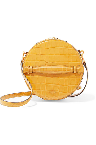 1f4b3b7059 ... wholesale mulberry trunk small croc effect leather shoulder bag net a  60180 25d30