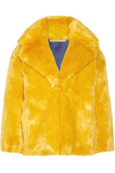 Diane von Furstenberg Jacke aus Faux Fur