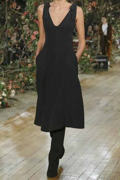 Ulla Johnson Lana Kleid aus Crêpe mit Schleifendetails