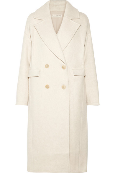 Frances oversized felt coat